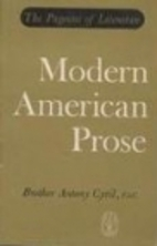 Modern American prose (The pageant of…
