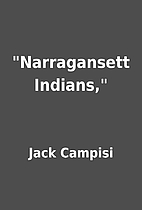 Narragansett Indians, by Jack Campisi