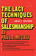 Lacey Technique for Salesmanship by Micali