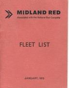 Midland Red Fleet List January 1973 by…