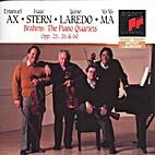 The Piano Quartets by Brahms