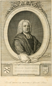 Author photo. Image from <b><i>The Works of the Right Reverend William Warburton</i></b> (1788)