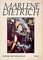 Marlene Dietrich. Photographien aus der…