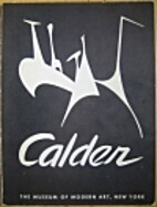 Alexander Calder by James Johnson Sweeney