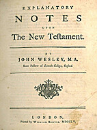 Explanatory notes upon the Old Testament By…