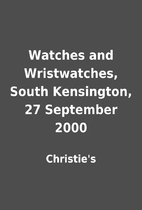 Watches and Wristwatches, South Kensington,…