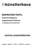 Inspiration Textil Tribal. Art im Dialog mit…