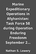Marine Expeditionary Operations in…