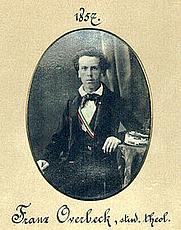 Author photo. Franz Overbeck