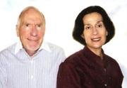 Author photo. Gerald S. Strober (left), Deborah Hart Strober (right)
