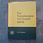 Transplantation to Connacht, 1654-58 by R.C.…
