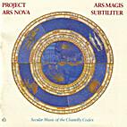 Ensemble P.A.N. (Project Ars Nova) - Ars…