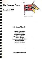 The German Army , December 1943 Orders of…