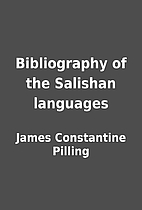 Bibliography of the Salishan languages by…