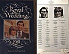 Royal Wedding 1981