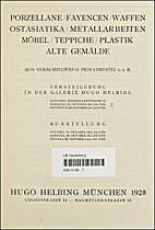 Sammlung Eugen Deter Berlin-11- 15 October…