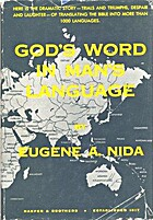 God's Word in man's language by…