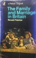 The Family and Marriage in Britain (Pelican)…
