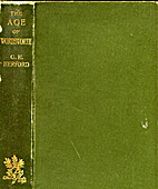 The Age of Wordsworth by C. H. Herford