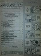 Mad Magazine #154; October 1972