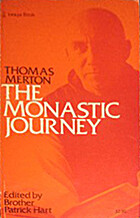 Monastic Journey by Thomas Merton