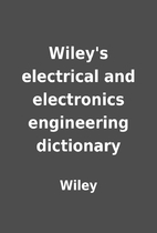 Wiley's electrical and electronics…