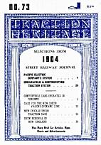 Traction Heritage n°73, vol. 13, n°1…