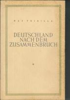 Deutschland nach dem Zusammenbruch by Max…