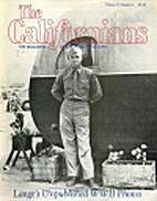 The Californians, Vol. 13 No. 2 (Sep/Oct…