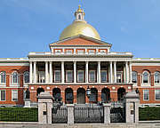Author photo. Massachusetts State House.  Photo by Paul Keleher / Flickr.