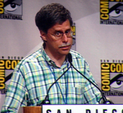 Author photo. Eisner Awards, San Diego Comic-Con 2007, by Lampbane