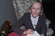 Author photo. Roselawn Author Series, January 2008, photo by Giulia Forsythe