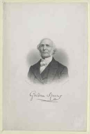 Author photo. Gardiner Spring (1785-1873) / Photo © <a href=&quot;http://www.bildarchivaustria.at&quot;>ÖNB/Wien</a>
