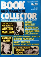 Book and Magazine Collector February 1989 -…