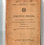 Gaceta Oficial: Santo Domingo de Guzmán, 22…