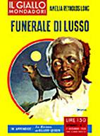Funerale di lusso - Il Giallo Mondadori n.…