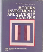 Modern Investments and Security Analysis by…