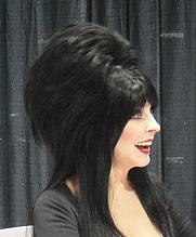 Author photo. Elvira (a.k.a. Cassandra Peterson). Photo by Doug Kline.