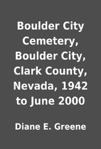 Boulder City Cemetery, Boulder City, Clark…