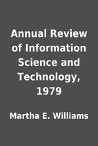 Annual Review of Information Science and…