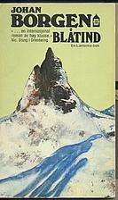 Blåtind : roman by Johan Borgen
