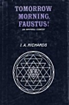 Tomorrow morning, Faustus! : an infernal…