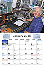 Amateur radio calendar : 15 month 2015/2016…