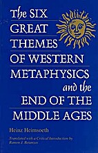 The Six Great Themes of Western Metaphysics…