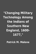 Changing Military Technology Among the…