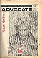 Advocate Magazine (Volume 4, Number 22) …