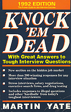 Knock 'em Dead 1992: With Great Answers to…