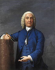 Author photo. James Gibbs FRS, 1700, by Andrea Soldi. Wikimedia Commons.
