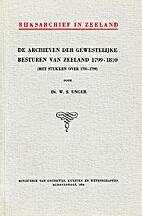 De archieven der gewestelijke besturen van…