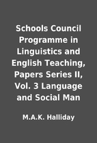 Schools Council Programme in Linguistics and…